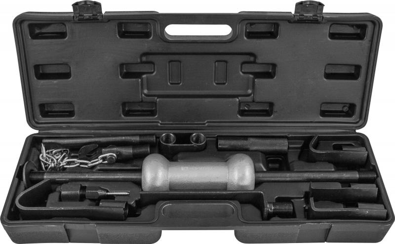 Набор для кузовного ремонта с обратным молотком, 13 предметов