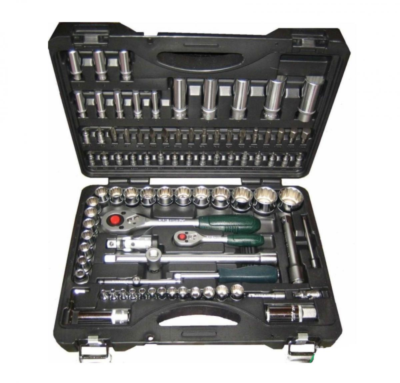 Force Набор инструмента головки и ключи (чемодан) 94 пр. № 4941-9 12гр