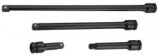 """Комплект удлинителей для ударных головок 1/2""""DR, 75-375 мм, 4 предмета"""