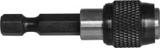 """Держатель для вставок-бит 1/4""""HDR с механической фиксацией, 50 мм"""