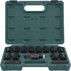 Набор для демонтажа и установки резьбовых метрических шпилек М6х1-М16х2, 14 предметов.