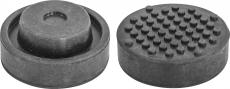 Опора резиновая для подкатных домкратов, D-72 мм, Н-32 мм