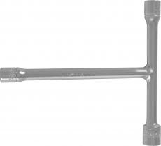 3-х сторонняя Т-образная ручка с торцевыми головками 8, 10, 12 мм, 140-130 мм