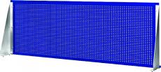 Панель перфорированная для верстака с двумя тумбами