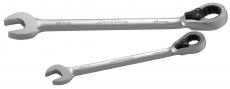 Ключ комбинированный трещоточный с реверсом, 11 мм