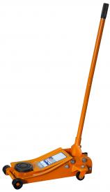 Домкрат подкатной 3т гаражный с уменьшенной высотой подхвата, 90-458 мм