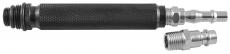 Переходник для подачи сжатого воздуха в цилиндр ДВС через свечные отверстия 14, 18 мм.