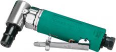 Бормашинка пневматическая 155 мм угловая с насадками, патрон 6 мм, 18000 об./мин., 85 л/мин.