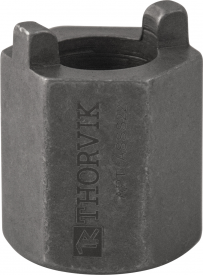 ASSS22 Насадка торцевая 22 мм HDR с радиусными шипами для монтажа/демонтажа аммортизационых стоек автомобилей VAG