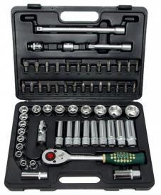 """Force Набор инструмента головки и ключи (чемодан) 60 предметов F4601 1/2"""" с SL-головками"""