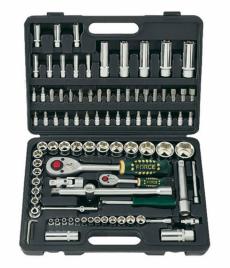 Force Набор инструмента головки и ключи (чемодан) 94 предмета № 4941