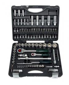 Force Набор инструмента головки и ключи (чемодан) 94 пр. № 4941-5 6гр