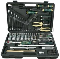 Force Набор инструмента головки и ключи (чемодан) 91 предмет № 4911