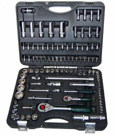 Force Набор инструмента головки и ключи (чемодан) 108 предметов № 41082-5 6-гр.