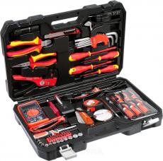 YATO набор инструментов для электриков 68 предметов