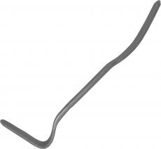 Монтажная лопатка изогнутая 90° для кузовных работ 380 мм.