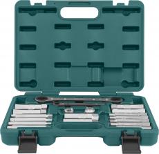 Набор приспособлений для демонтажа гаек штоков амортизаторов