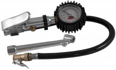 Манометр для шин 3-хфункциональный, шланг 300 мм
