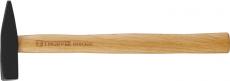 Молоток слесарный с деревянной рукояткой 300 гр